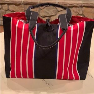 Bags - Canvas lined tote bag NWOT